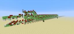 Slimestone walking crocodile - Vanilla 1.8 Minecraft Project