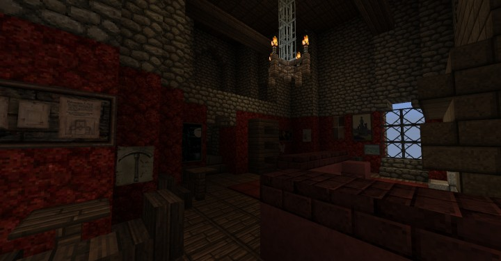 Gryffindor Common Room Minecraft The Wizarding World of...