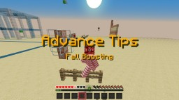 Advance Tips:Fall Boosting Minecraft Blog Post