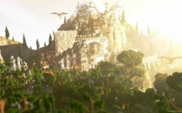 Lord of the Rings Inspired Map || Qubion Build Team Minecraft Project