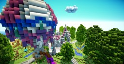 Realm of Lothiredon » Our new plotworld hubs! Minecraft Project