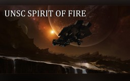 (HALO) UNSC - Spirit Of Fire Minecraft