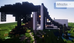 Attractive ~ Modern house Minecraft