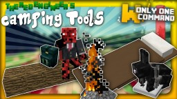 Camping tools with only one command block | Backpacks, bear traps, sleeping bags & more! Minecraft