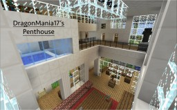 DragonMania17's Modern Penthouse Minecraft Map & Project