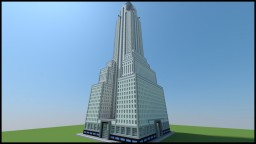 Chrysler Building (New York City, big version) Minecraft Project