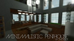 Minimalistic Penthouse Minecraft Map & Project
