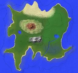 Custom Island Map (2k x 2k) Minecraft