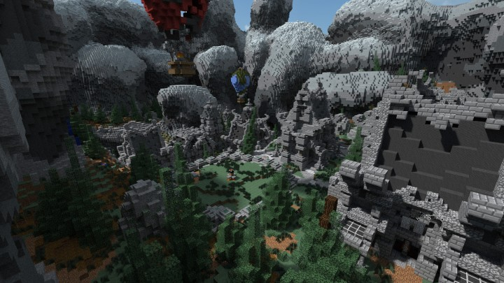 Drevni Survival Games Map by Athion Network