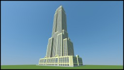 The Empire State Building (New York City, big version) Minecraft Map & Project