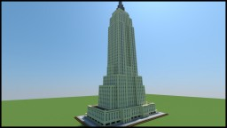 Empire State Building (Little version) Minecraft Project