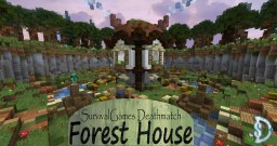 SG Deathmatch Arena: Forest House Minecraft Map & Project