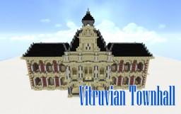Vitruvian Townhall Minecraft Project