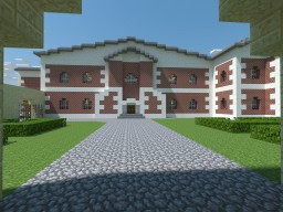 Lara Croft Manor Minecraft Map & Project