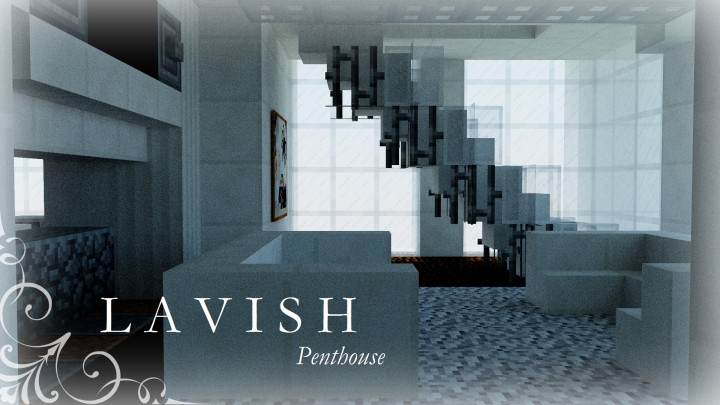 Lavish Luxury Penthouse Contest Minecraft Map