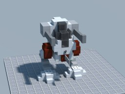 TTC: Archimedes Class Light Mech - Mark 2 Minecraft
