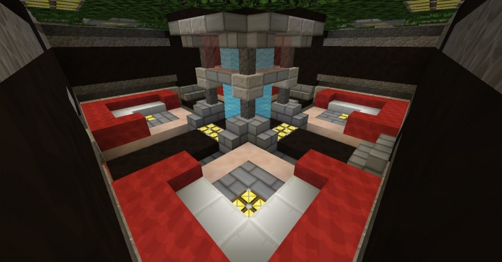 1 Room 9 Room House Minecraft Project