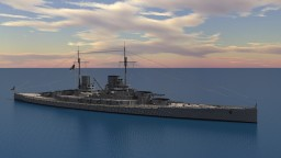 SMS Lützow (1913) 4:1 Scale Minecraft Map & Project