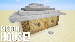 9x9 Piston House Minecraft Project