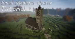 Small Medieval Church Minecraft