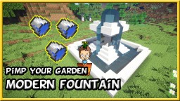 Modern Fountain Minecraft Map & Project