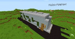 Modern Motorhome Minecraft Project