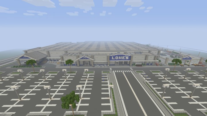 Lowe\'s Home Improvement Store Minecraft Project