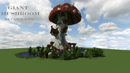 Giant Fantasy Mushroom (DownLoad) By CamiriKids (Pop Reel) Minecraft Project