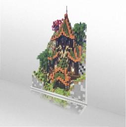 {Plot Creative} Japan Palace - Belvicraft Minecraft Map & Project
