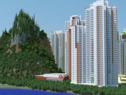 Shek Mun Estate (碩門邨) Phase 1 Minecraft