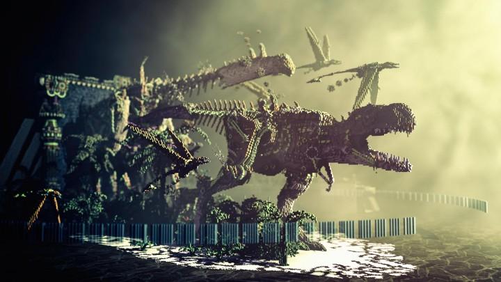 Primal Portal Steampunk Dinosaurs Mcbcon Entry