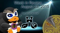 Week in Review - Week of August 23, 2015 Minecraft Blog Post