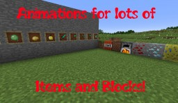 Xtra Animations Pack (v2.1) (Adds new animations to vanillla Minecraft!) (v2.0 added ITEMS!) Minecraft Texture Pack