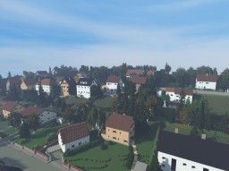 Small city in Germany / 1:1 rebuild Minecraft