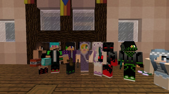 Some users and I posing for a pic