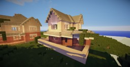 Lake View summer house 1 Minecraft Map & Project