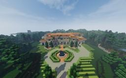 Mediterranean-Mix Mansion Minecraft Map & Project