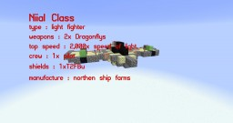 Niial Class Biological Light Fighter Minecraft Map & Project