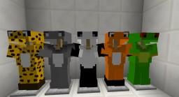 Animal Armor Onesie! [Texture Pack] Minecraft Texture Pack