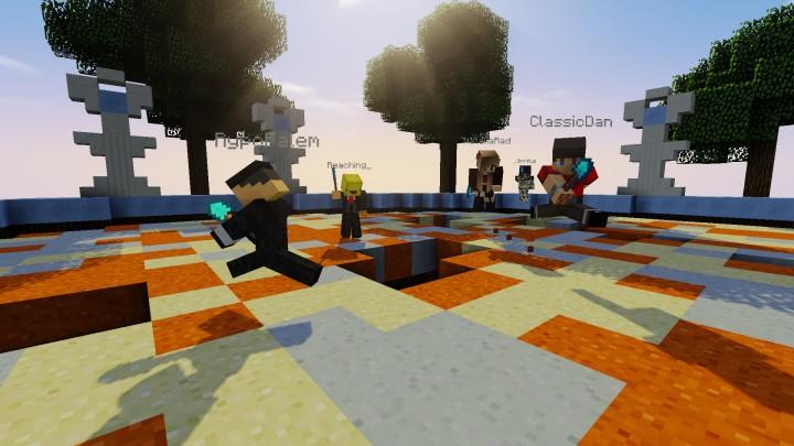 Spleef Minigame