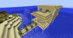 Doom's Birch House on the Water Minecraft Map & Project