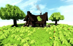 Small Cabin Minecraft