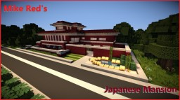 Japanese Mansion Minecraft Map & Project