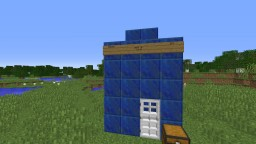 Dr. Who TARDIS Minecraft Map & Project