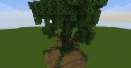 Treehouse Minecraft Map & Project