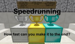 Speedrun map with time tracker - How fast can you complete the parkour?