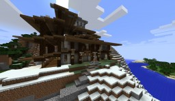 Mountainside Lodge [Almost Done] Minecraft Map & Project