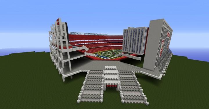 Levis Stadium Capacity >> Levi's Stadium (Home of the San Francisco 49ers and Super ...