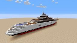 Grey wolf super yacht Minecraft