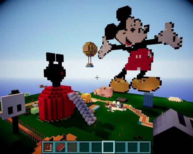 mickeys funhouse